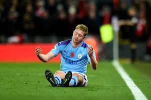kevin de bruyne predicted exactly why man city would struggle against liverpool