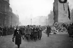 How Bristol marked the first anniversary of Armistice Day 100 years ago