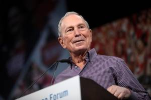 Bloomberg, polling at 4%, unlikely to affect race even as a spoiler