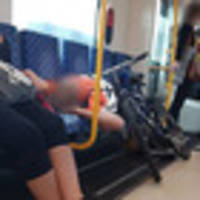 'f**k off': cyclist on auckland train refuses to give priority seating to mum with pram