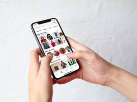 a shopping app that's popular among teens has started attracting people who send creepy, harassing messages, and the company hasn't figured out how to stop it