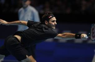 Federer beats Berrettini for first win at ATP Finals