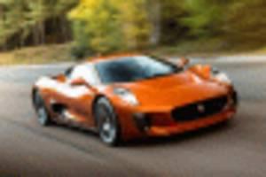 jaguar c-x75 driven by a james bond villain up for sale