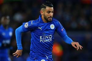 'not prepared' – riyad mahrez on leicester city's champions league run and his 'not brilliant' displays