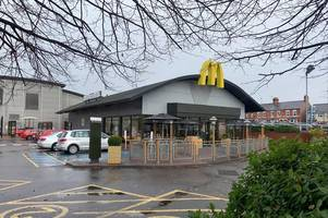 appeal after hooded man attempted to grab woman outside popular mcdonald's