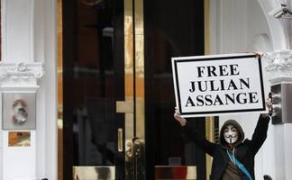 father of wikileaks founder julian assange says his son's health is in poor condition