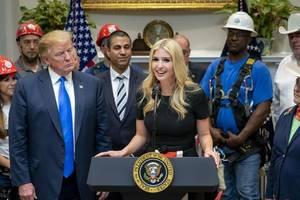 trump boldly and insanely claims ivanka created 14 million jobs
