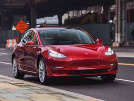 almost every single one of the 5,000 tesla model 3 owners surveyed by bloomberg said they would buy the car again (tsla)