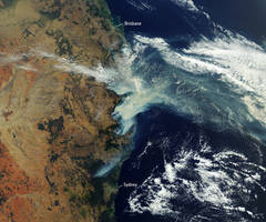Bushfires rage in Australia