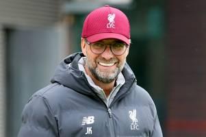 Jurgen Klopp reflects on Liverpool's start to the season