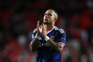 Man Utd flop Memphis Depay addresses £50m Tottenham transfer speculation