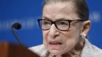 Supreme Court Says Ruth Bader Ginsburg Home Sick With Stomach Bug