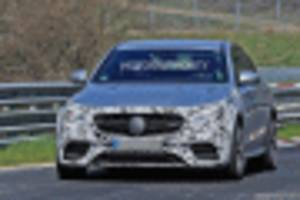 2021 mercedes-amg e63 spy shots and video
