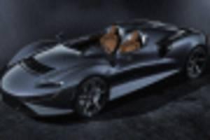 mclaren's next ultimate series member is the elva speedster