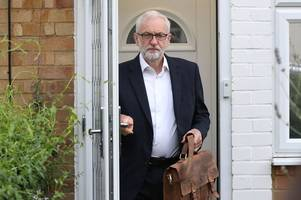 jeremy corbyn branded 'terrorist sympathiser' during glasgow election visit