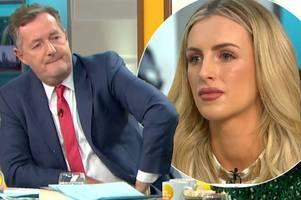 peru two drugs mule michaella mccollum gets 'uncomfortable' grilling from piers morgan