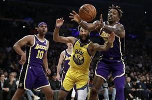 Lakers beat Warriors 120-94, improve to NBA-best 9-2