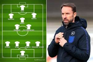 england expected line-up for montenegro clash as raheem sterling misses out