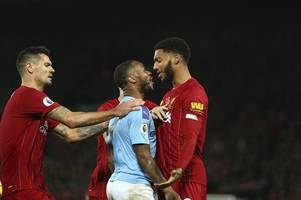 joe gomez's dad says raheem sterling 'not to blame' for bust-up with son