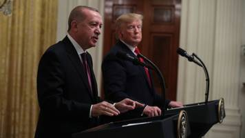 Trump And Erdogan Hold Joint Press Conference At White House