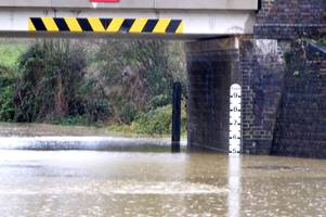 water day: how snow, rain and floods brought chaos to gloucestershire and beyond