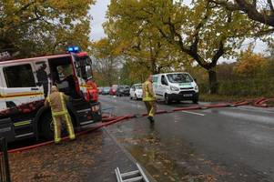 fire service announces plans to deal with further flooding as weather warning in place