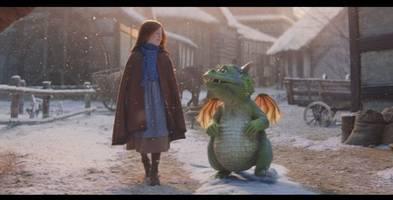 john lewis unveils heart-warming christmas advert with adorable dragon excitable edgar