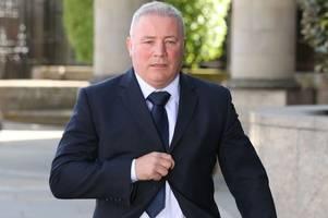 Rangers legend Ally McCoist breaks silence on bombshell HMRC claims