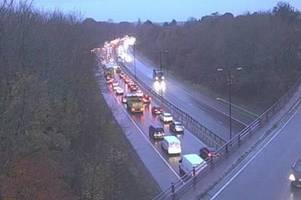 live updates as five-vehicle crash on a48 in cardiff causes long delays