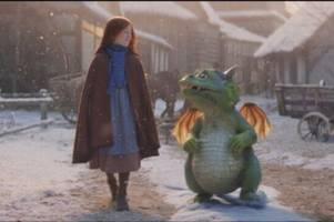 who is the little girl in the john lewis christmas advert starring excitable edgar?