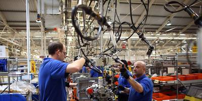 gm's 40-day strike drives the biggest drop in us factory output since april