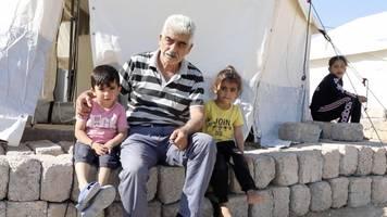 Kurdish Refugees React To Turkish Military Operation