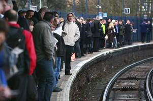 birmingham commuters spending extra day in travel hell trying to get to work