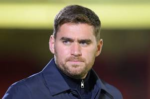 grimsby town manager michael jolley leaves club after run of poor results