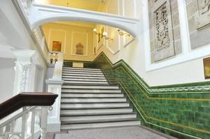 'it's like gone with the wind' - take a tour of town hall as incredible £1.8m makeover restores its grandeur