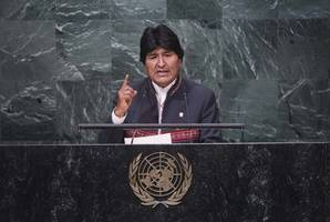 bolivia's ousted morales can return, but would face inquiry: interim president