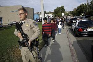 on his 16th birthday, california student opens fire at high school, killing two