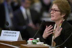 yovanovitch calls trump's attacks on her this morning very intimidating