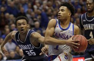 Kansas dominates Monmouth in 112-57 victory