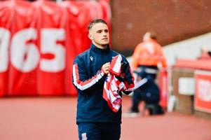 'have a look' - league one manager gives update on stoke city winger's loan situation