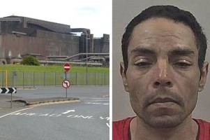 burglar caught by british steel staff after raiding vending machines and running off with cash