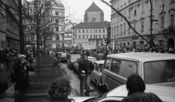 30 years after the velvet revolution, the czechs are back on the streets