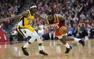 James Harden scores 44 points, Rockets beat Pacers