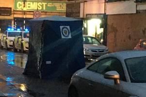 Live updates: Police incident in Lozells Street, Lozells, as blue tent seen in road