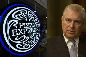 woking pizza express trolled on google after prince andrew's bbc newsnight interview
