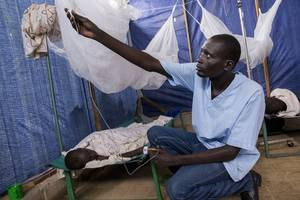 south sudan, un to immunize 144,000 against cholera