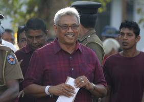 sri lanka presidential election: rajapaksa claims victory as count continues