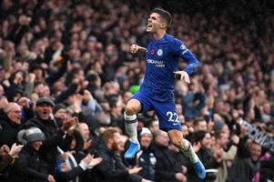 Pulisic, Jorginho, Loftus-Cheek and Rudiger - Latest Chelsea team news ahead of Man City trip
