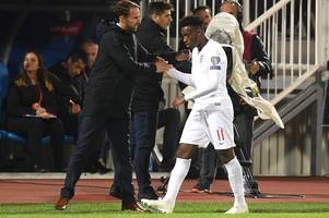 the message from man utd fans for gareth southgate about callum hudson-odoi and marcus rashford