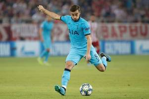 what harry winks said about his shock omission from the spurs squad for red star belgrade clash